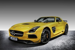Mercedes-Benz SLS AMG Black Series: встречаем!