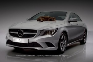 Mercedes-Benz CLA: реклама с котиками