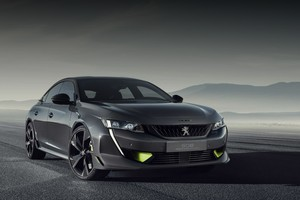 Концепт-кар 508 Peugeot Sport Engineered новая высота