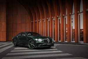 Bentley Continental GT Number 9 Edition от Mulliner уже в России
